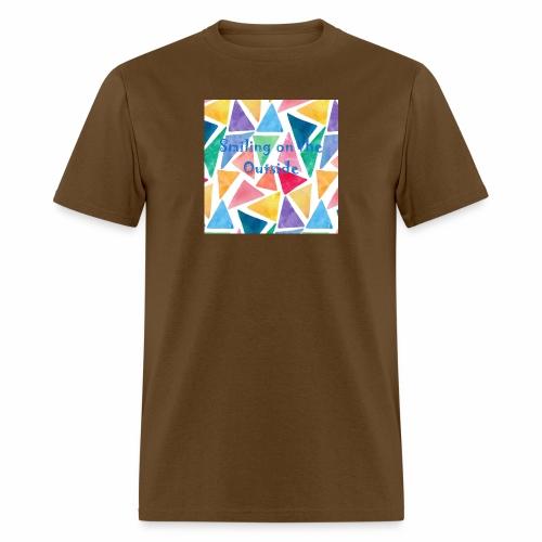 Smiling On The Outside - Men's T-Shirt