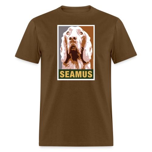 Official DAR Special Edition SEAMUS Brown - Men's T-Shirt