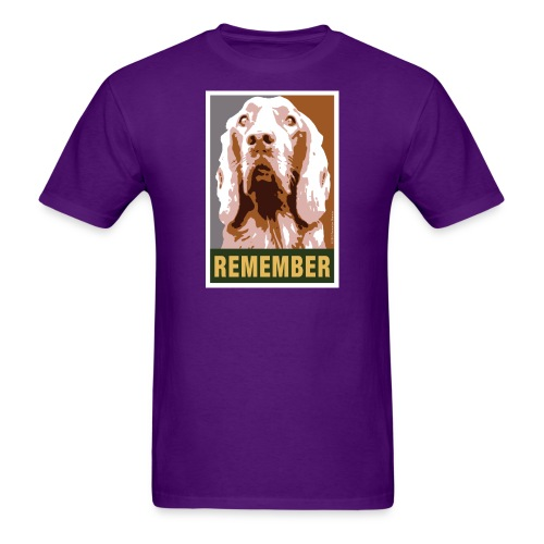 Official DAR Special Edition REMEMBER Brown - Men's T-Shirt