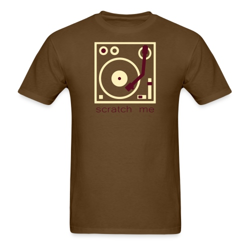 I DJ - Scratch Me - Turntable - Men's T-Shirt