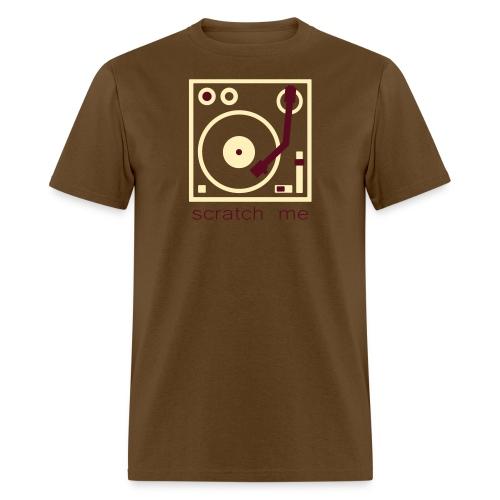 I DJ - Scratch Me - Turntable - Men's T-Shirt