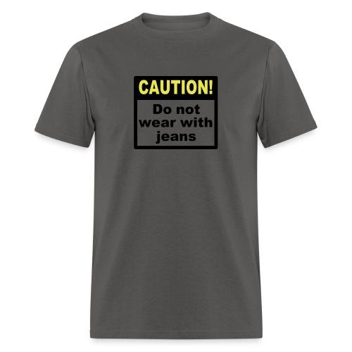 jeanscaution2 - Men's T-Shirt
