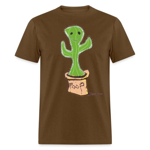LTM Poop Cactus 2000x3242 png - Men's T-Shirt