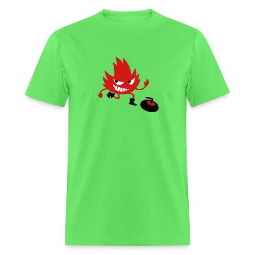 Leif Curling - Men's T-Shirt