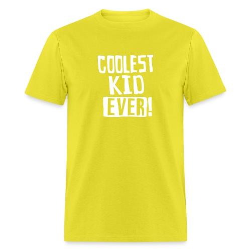 Coolest kid ever - Men's T-Shirt