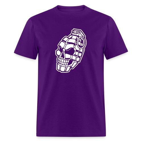 Skull Grenade - Men's T-Shirt
