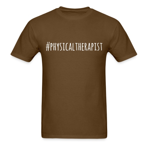 #physicaltherapist t shir - Men's T-Shirt