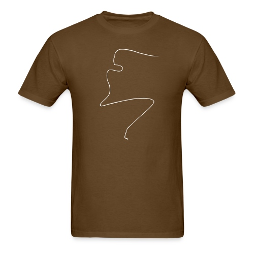 Linear Woman - Men's T-Shirt