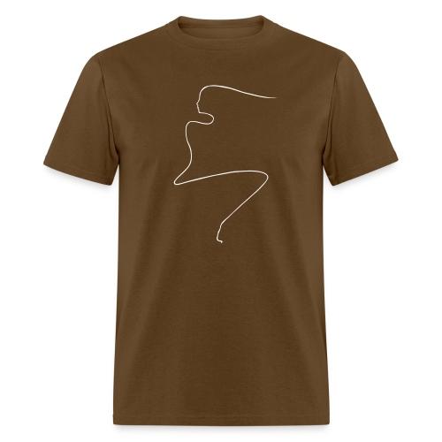Linear Woman - Men's T-Shirt