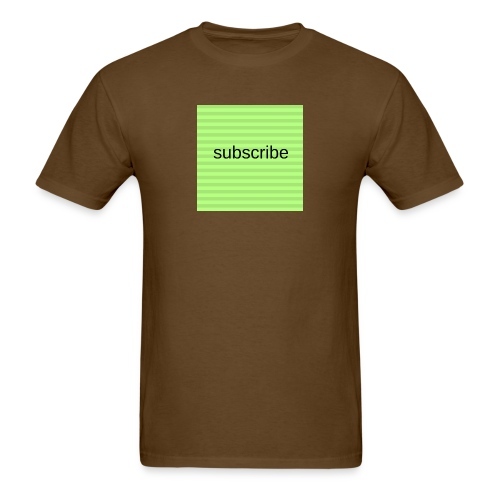 subscribe - Men's T-Shirt