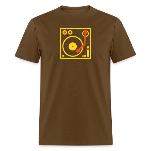 Turntable DJ - Men's T-Shirt