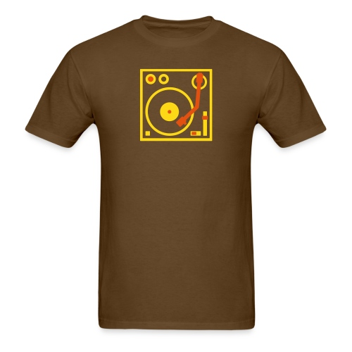 Turntable DJ - Men's T-Shirt