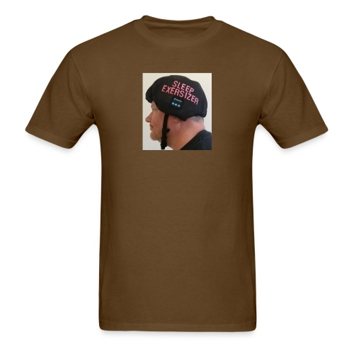 Sleep Exersizer Helmet Model - Men's T-Shirt