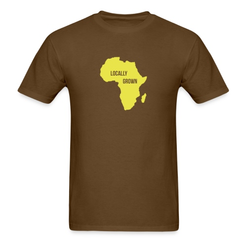 Africa Locally Grown - Men's T-Shirt