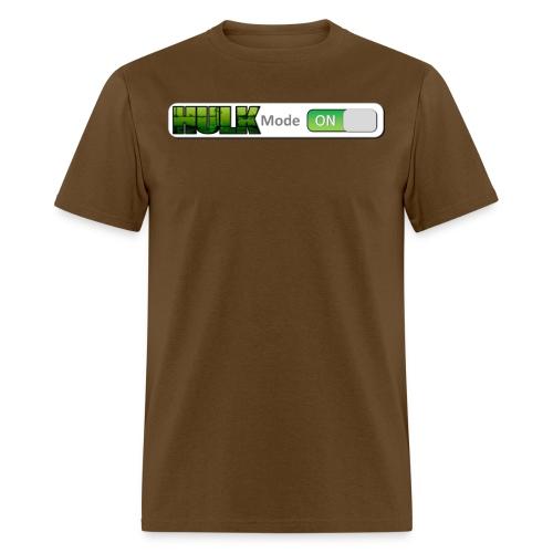 HULK mode on 3 png - Men's T-Shirt