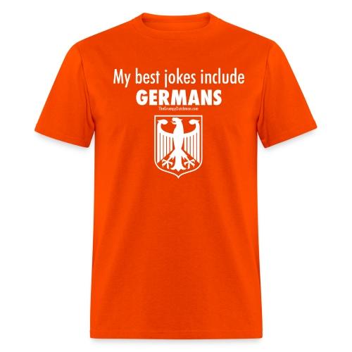 17 Germans white lettering - Men's T-Shirt