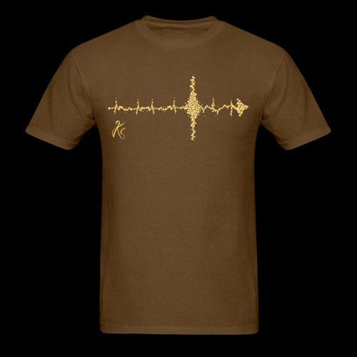 Sound Wave Arrow - Men's T-Shirt