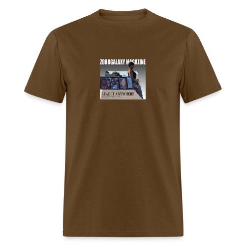 AD MAGAZINE WITH BIG REDD - Men's T-Shirt