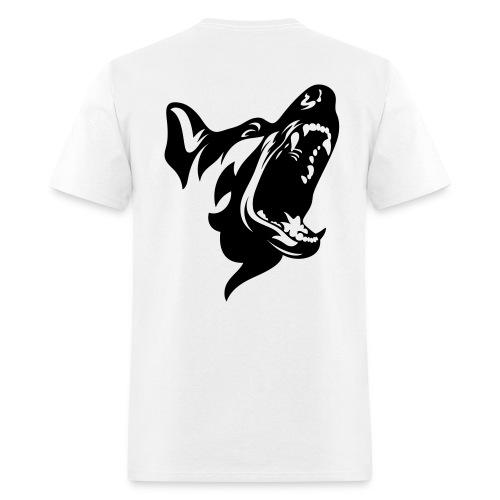 German Shepherd Dog Head - Men's T-Shirt