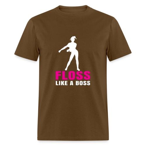 the floss like a boss shirt - water flosser - Men's T-Shirt