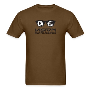 Vision Sunglasses White/Black - Men's T-Shirt