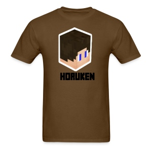 yellow horuken logo design - Men's T-Shirt