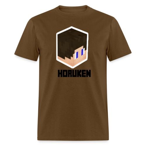 yellow horuken logo design - Men's T-Shirt