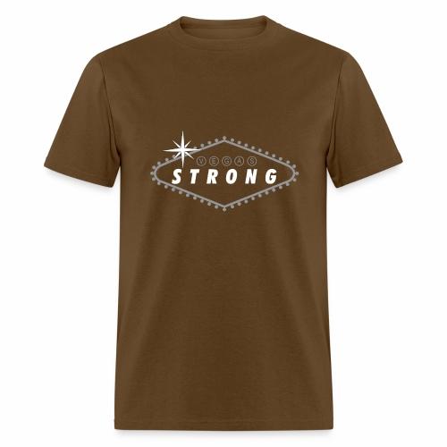 Vegas Strong Sign (white) - Men's T-Shirt