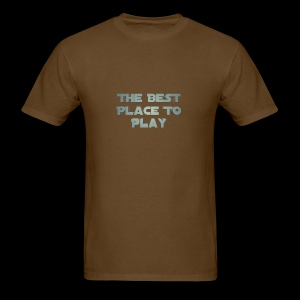 The Best Place To play - Men's T-Shirt