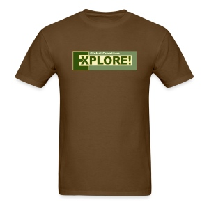 Explore Logo - Men's T-Shirt