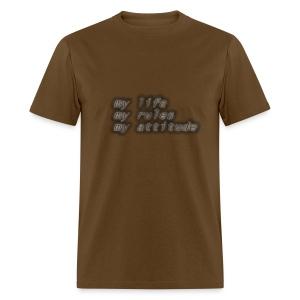 my life my rule - Men's T-Shirt