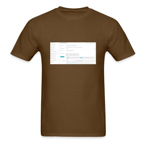 drip plan - Men's T-Shirt