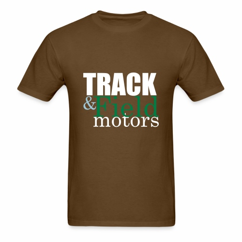 Track and Field Logo - Men's T-Shirt