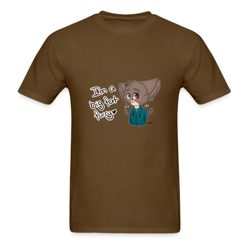 Big fat furry - Men's T-Shirt
