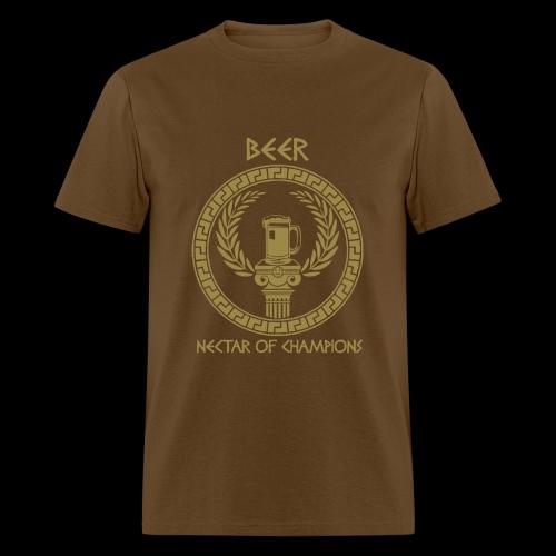 Beer: Nectar of Champions - Men's T-Shirt