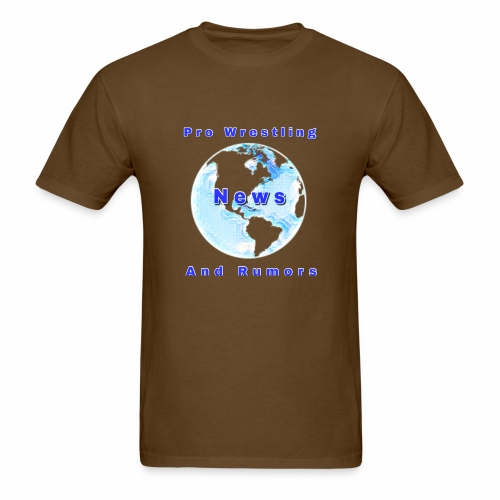 Pro Wrestling News and Rumors Official T-Shirt - Men's T-Shirt