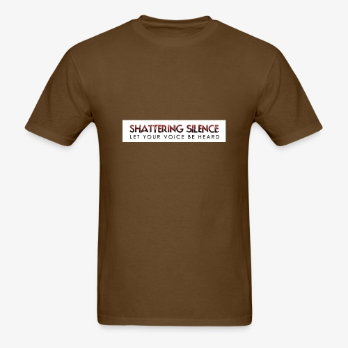 Shattering Silence T-Shirts - Men's T-Shirt