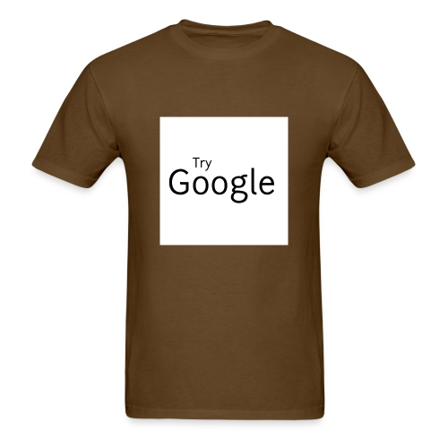 Try Google - Men's T-Shirt
