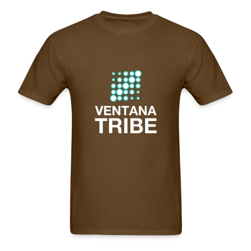 Ventana Tribe White Logo - Men's T-Shirt