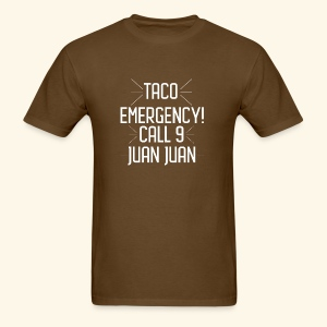 taco emergency - Men's T-Shirt