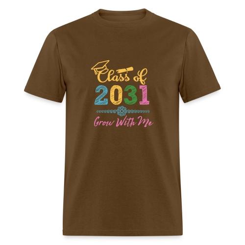 Class of 2031 First Day of School Shirt - Men's T-Shirt