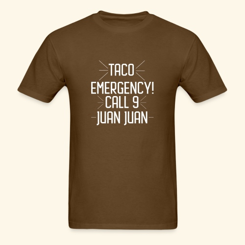 taco emergency - Men's T-Shirt