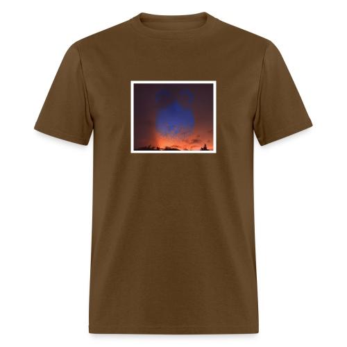 sunset floating buns - Men's T-Shirt