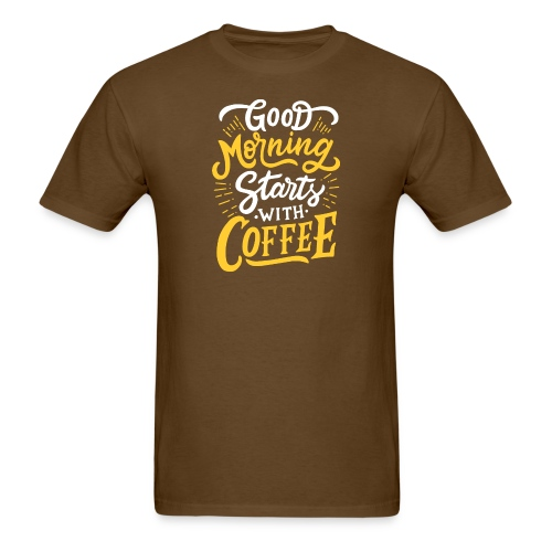Good-Morning-Coffe - Men's T-Shirt