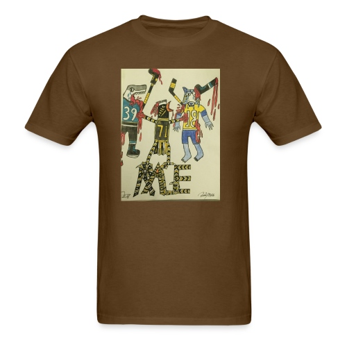 A pens two back to back on the attack - Men's T-Shirt