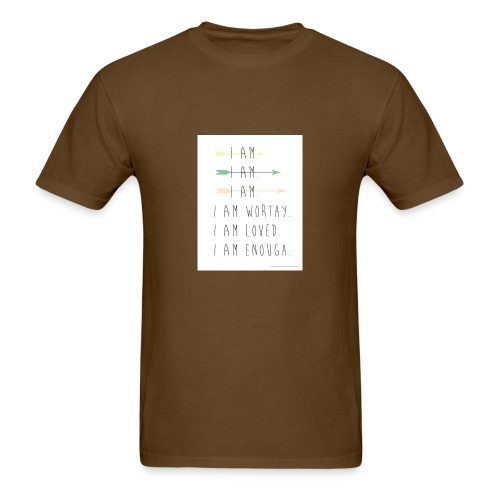 enough - Men's T-Shirt