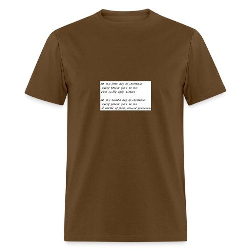 harry potter xmas - Men's T-Shirt