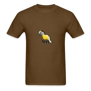 fjord_horse - Men's T-Shirt