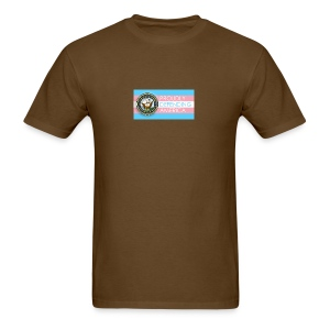 Transgender Navy - Men's T-Shirt