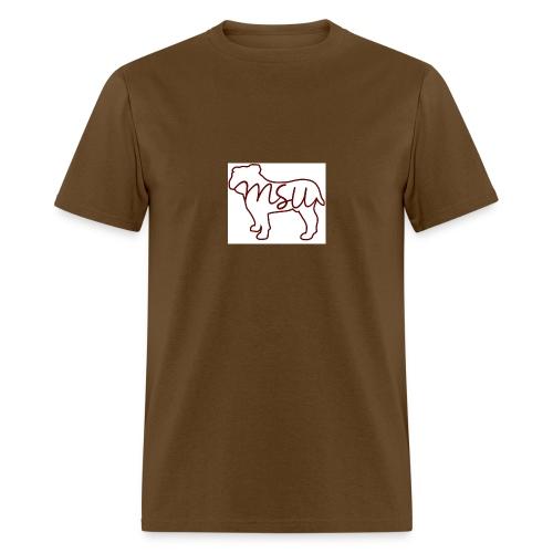 910a07ce5e52d5ad77965d0683b10d53 mississippi state - Men's T-Shirt